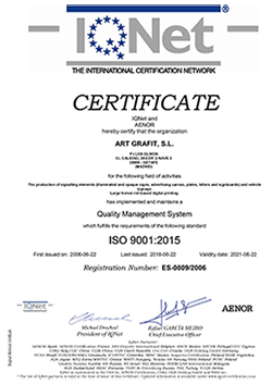 artgrafit certificado